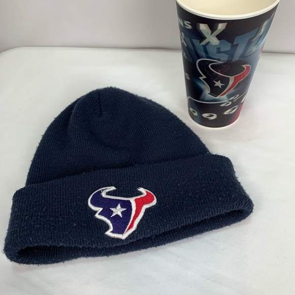 Other - Lot of 2 Texans Hat & Cup